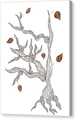 Dead Wood Canvas Print by Frank Tschakert