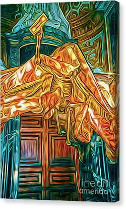 Death At The Vatican Canvas Print by Gregory Dyer
