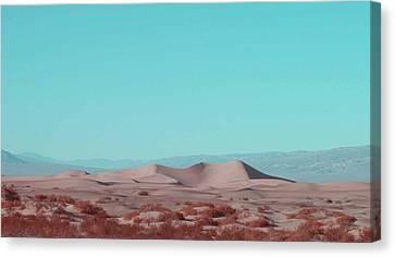 Death Valley Dunes 2 Canvas Print by Naxart Studio