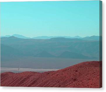 Death Valley View 2 Canvas Print by Naxart Studio