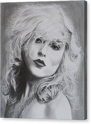 Debbie Harry Canvas Print by Mike OConnell