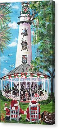 December 26th  Canvas Print by Doralynn Lowe