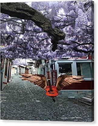 Deep Purple Canvas Print by Eric Kempson