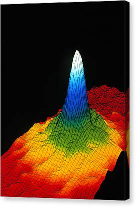 Density In A Bose-einstein Condensate Canvas Print by National Institute Of Standards And Technology (nist)