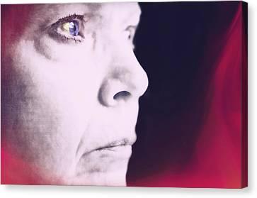 Depression Canvas Print by Susan Leggett
