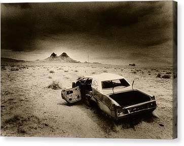Desert Arizona Usa Canvas Print by Simon Marsden
