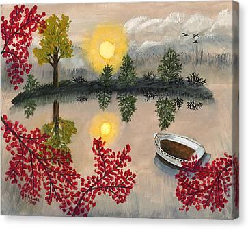 Deserted Canvas Print by Susan Schmitz
