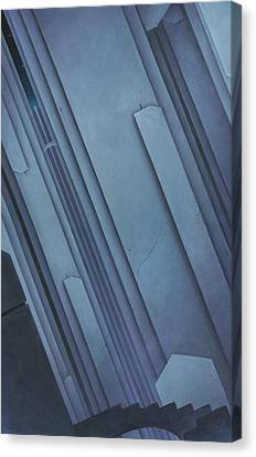 Designs Of A Mad Architect Canvas Print by Stacy Drum