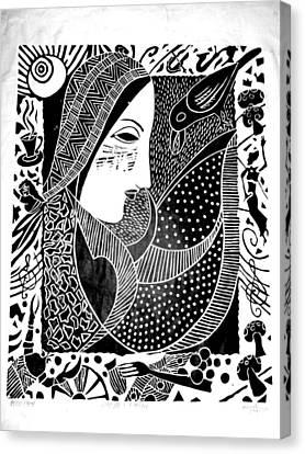 Desires Canvas Print by Daljeet  Kaur