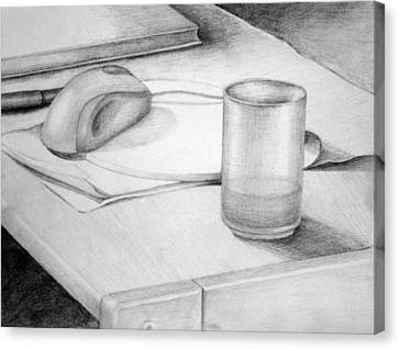 Desk Canvas Print by Morka Mold