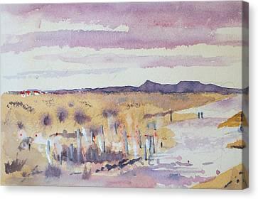 Desolation Canvas Print by Harold Kimmel