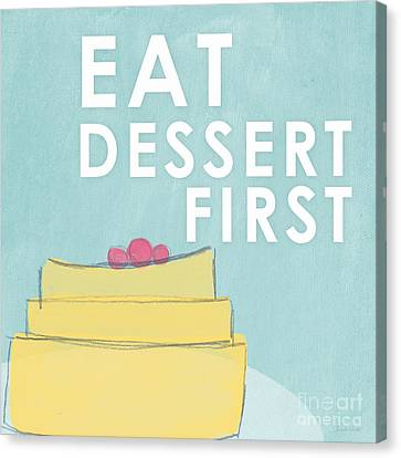 Dessert Canvas Print by Linda Woods