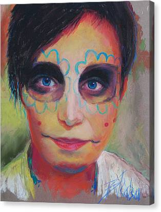 Dia De Los Muertos Canvas Print by Billie Colson