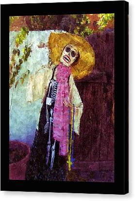 Dia De Los Muertos Old Mesilla Canvas Print by Kurt Van Wagner