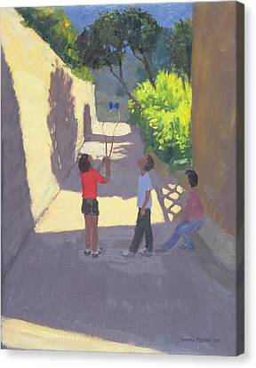 Diabolo France Canvas Print by Andrew Macara