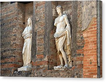 Diana And Apollo. Canvas Print by Terence Davis
