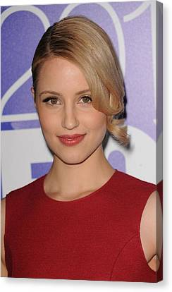 Dianna Agron In Attendance For Fox 2010 Canvas Print by Everett