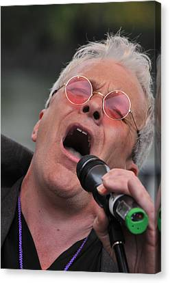Dicey Riley Frontman Canvas Print by Mike Martin