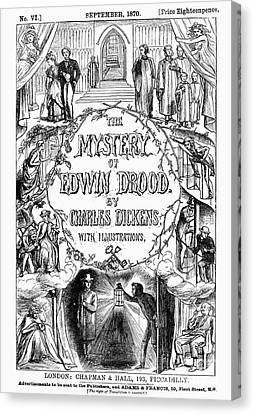 Dickens: Edwin Drood Canvas Print by Granger