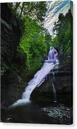 Dingmans Falls Canvas Print by Rick Berk