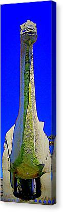 Dinny 4 Canvas Print by Randall Weidner