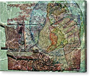 Discovery Of America Canvas Print by Paulo Zerbato