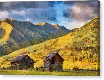 Distant Storm Canvas Print by Jeff Kolker
