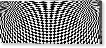Distorted Perspective  Canvas Print by Aiden Galvin