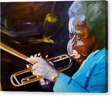 Dizzy Canvas Print by David Duerson