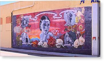 Dolores Del Rio Canvas Print by Viktor Savchenko