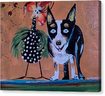 Doobie And Me Canvas Print by Madison Latimer