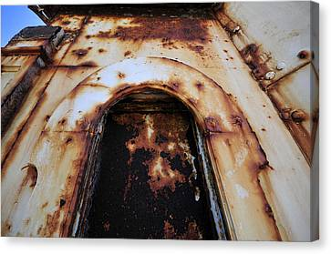 Door Of Rust Canvas Print by David Lee Thompson