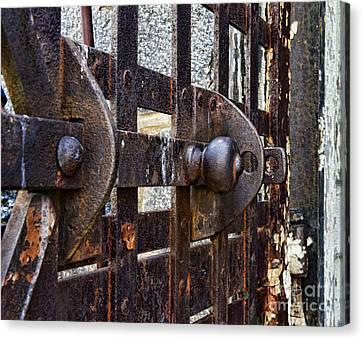 Door To Death Row Canvas Print by Paul Ward