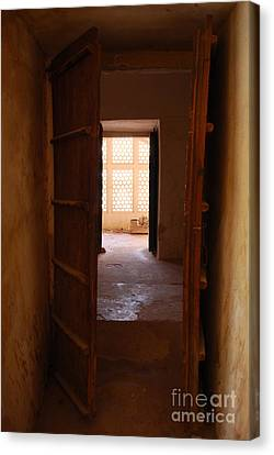Doorway Canvas Print by Jen Bodendorfer