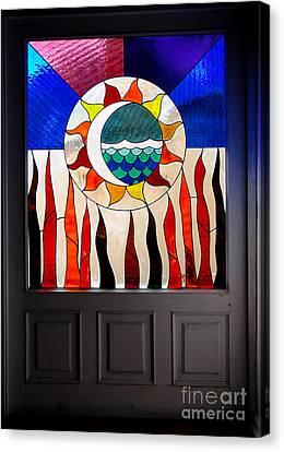 Doorway Of Choice Canvas Print by Al Bourassa
