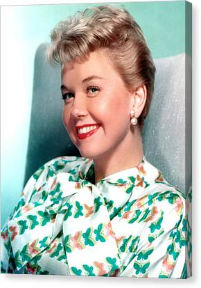 Doris Day, Warner Brothers, 1950s Canvas Print by Everett