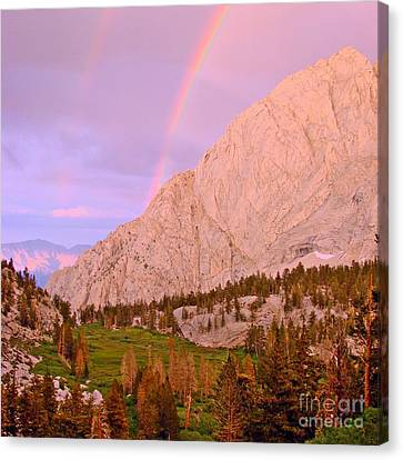 Double Rainbow Canvas Print by Scott McGuire