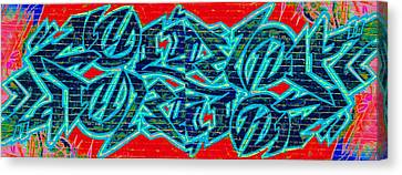Double Trouble 2 Canvas Print by Randall Weidner