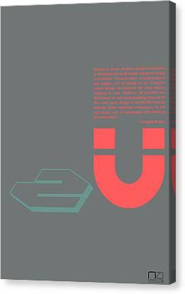 Douglas Martin Poster Canvas Print by Naxart Studio