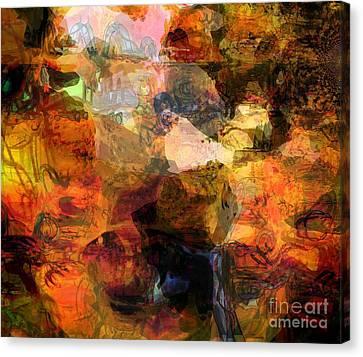 Down To Earth Canvas Print by Fania Simon