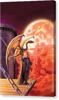 Dragon Lord Canvas Print by The Dragon Chronicles - Robin Ko