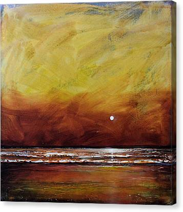 Drama Ocean Canvas Print by Toni Grote