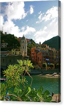 Dream Of Vernazza Canvas Print by  K Scott Williamson