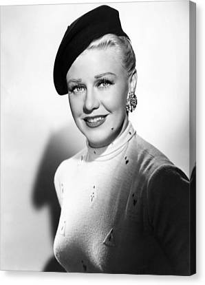 Dreamboat, Ginger Rogers, 1952 Canvas Print by Everett