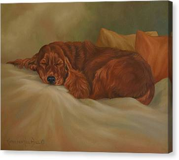 Dreaming Canvas Print by Kathleen  Hill