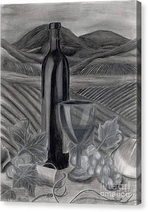 Dreams Of Tuscany Canvas Print by Jennifer LaBombard