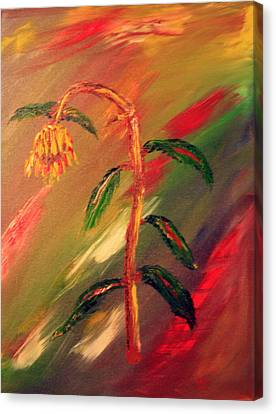 Dregs Of Summer Canvas Print by James Bryron Love