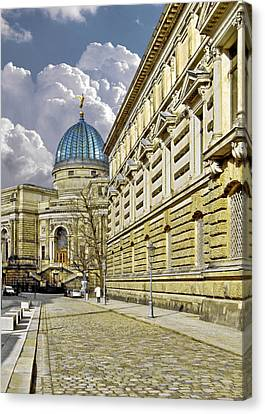 Dresden Academy Of Fine Arts Canvas Print by Christine Till