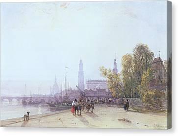 Dresden Canvas Print by William Wyld