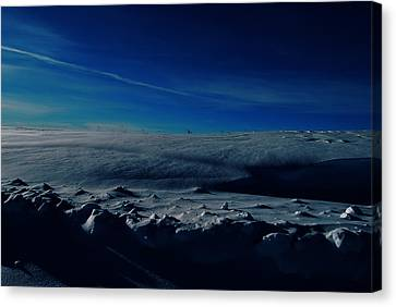 Drifts Of Time Canvas Print by JC Photography and Art
